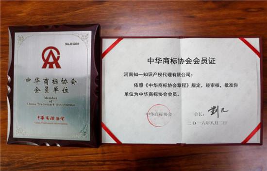 中国商标协会,会员单位